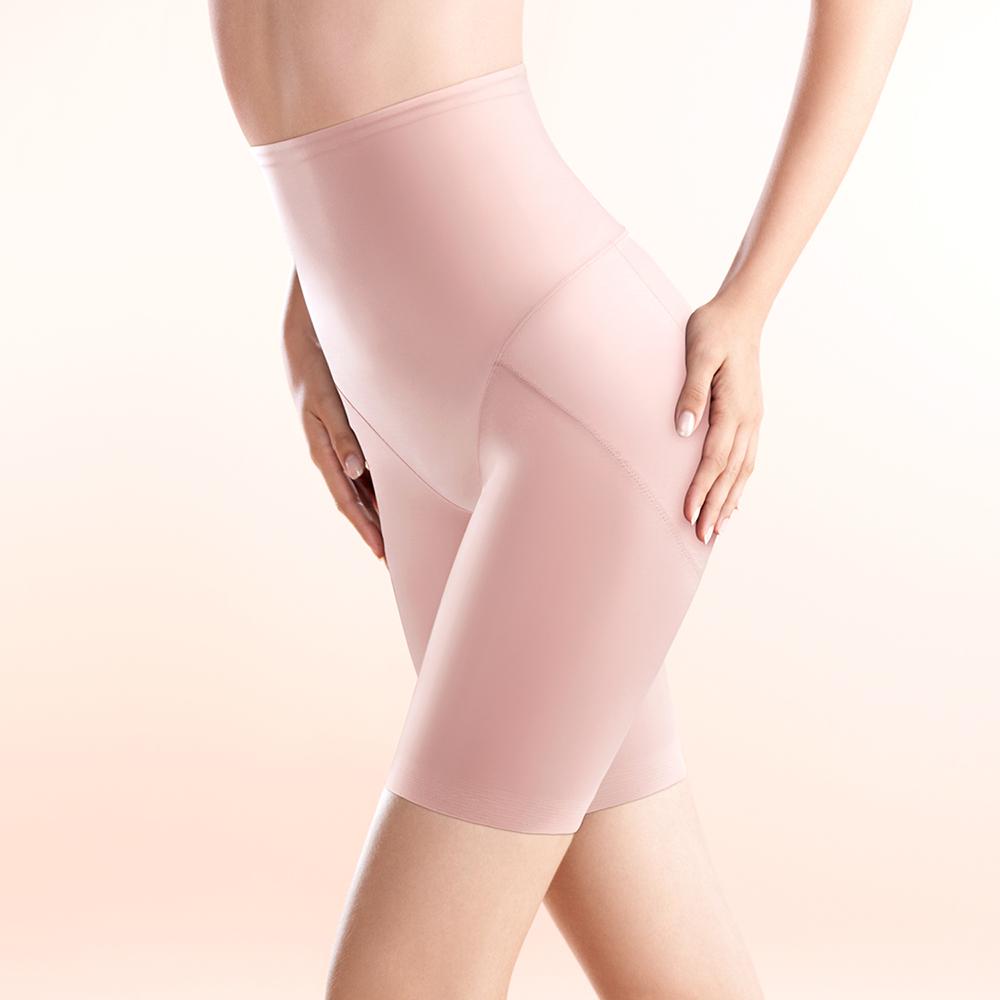 黛安芬-曲線美体衣-緊緻保養系列-M-EL高腰美体褲蜜桃幕斯