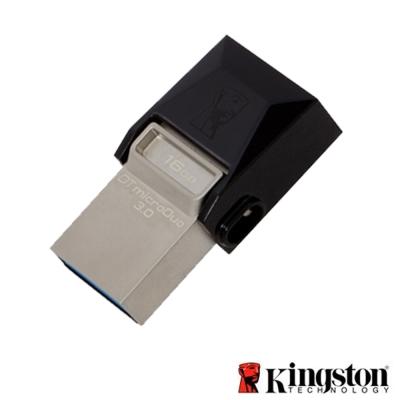 Kingston 金士頓 OTG 16GB microDuo 3.0 雙接口傳輸 隨身碟