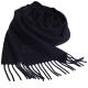Vivienne Westwood 長版刺繡行星LOGO羊毛圍巾(深藍) product thumbnail 1