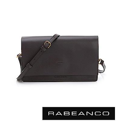RABEANCO 迷時尚系列多夾層小方包 - 深霧灰