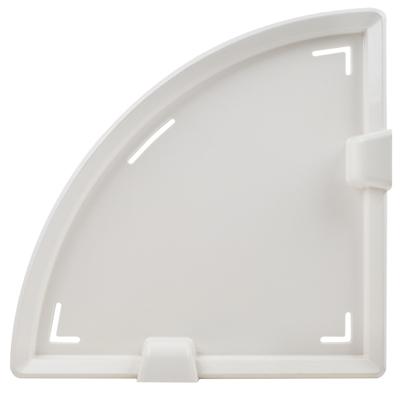 EZ Bond 無痕大力掛勾浴室收納超值組(5入掛勾x1+三角置物架x2)