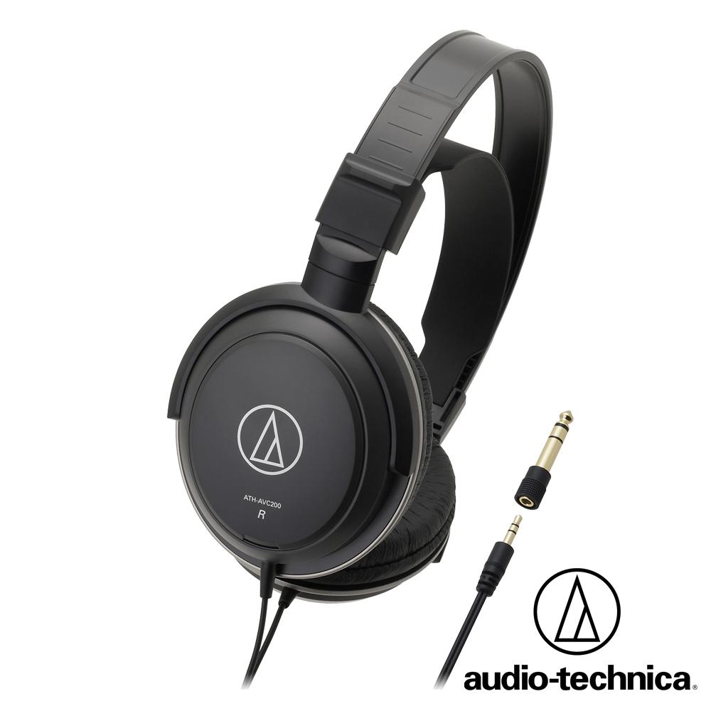 鐵三角 ATH-AVC200 密閉式動圈型耳機