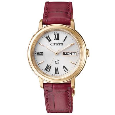 CITIZEN xC  美麗羅馬行時尚腕錶-EW2423-10A-33mm