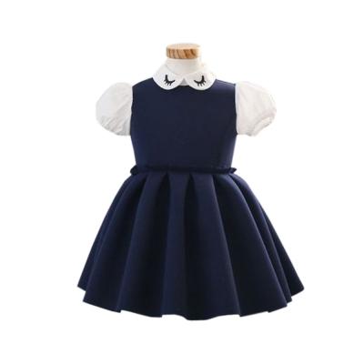 魔法Baby 專櫃款女童洋裝(藍.紅) k41101