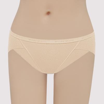 曼黛瑪璉 提托包覆舒適無痕  低腰三角無痕內褲(裸麥膚)