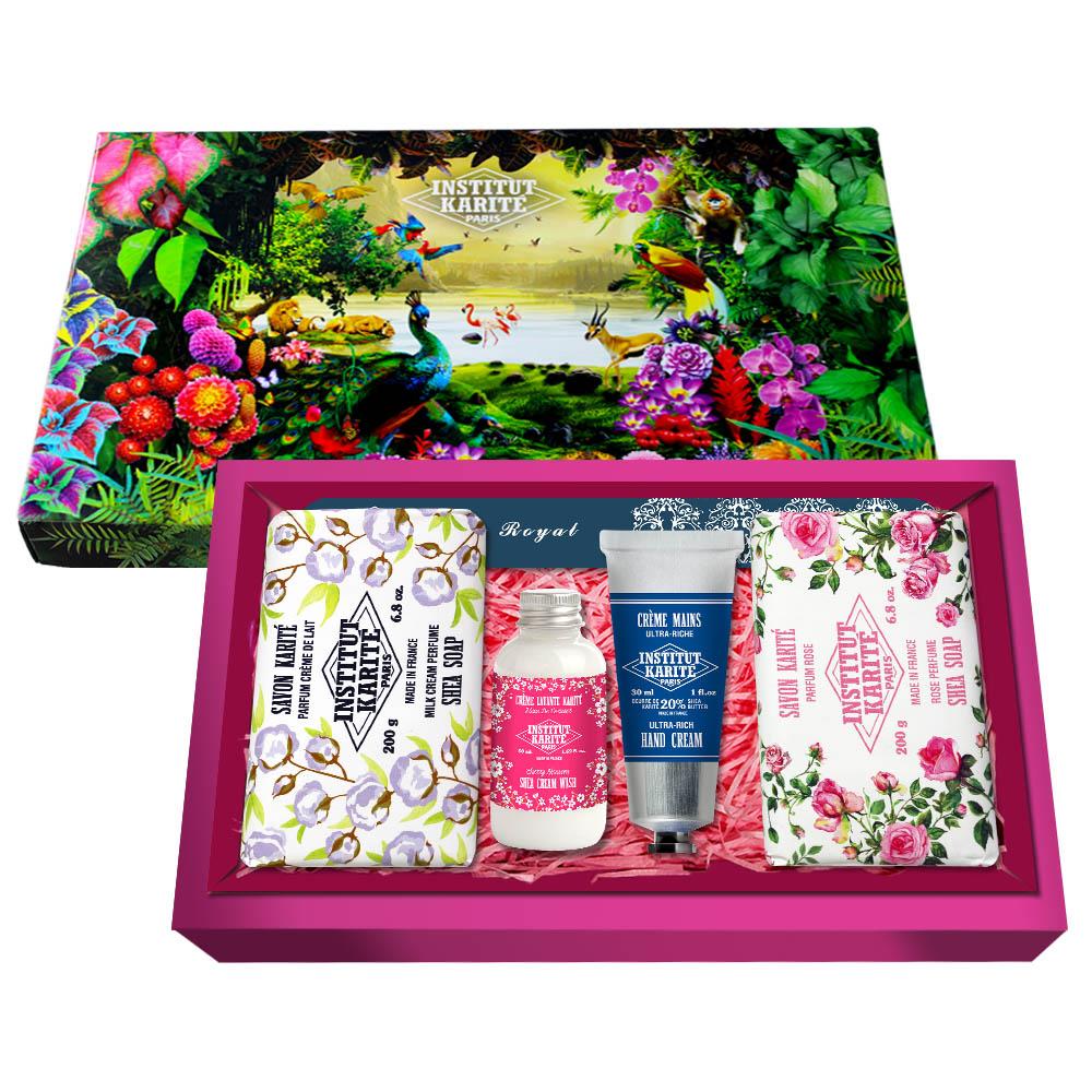 Institut Karite Paris巴黎乳油木香氛組禮盒-1