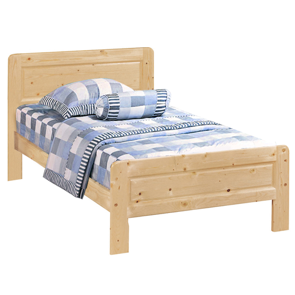 愛比家具 經典松木實木單人床架