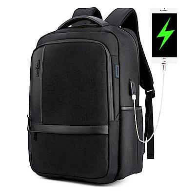 PUSH!商務旅遊箱包用品防水抗震雙肩背包電腦包商務包3C包旅遊包學生包男背包U51