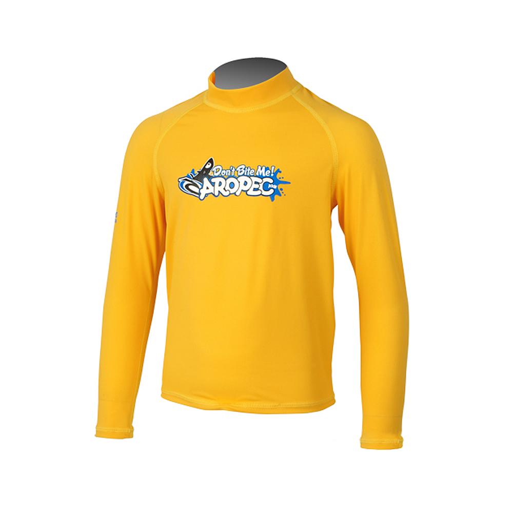 AROPEC Marvel kid 驚奇兒童長袖防曬衣 黃色