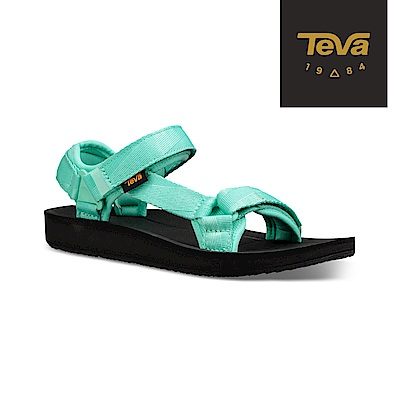 TEVA 美國-女 Original Premier 經典織帶涼鞋 湖水綠