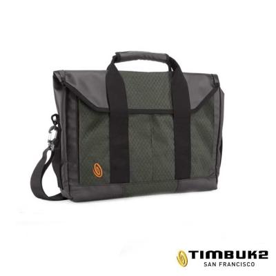 美國 TIMBUK2 Sidebar 手提側背電腦包(17L)_黑/碳灰