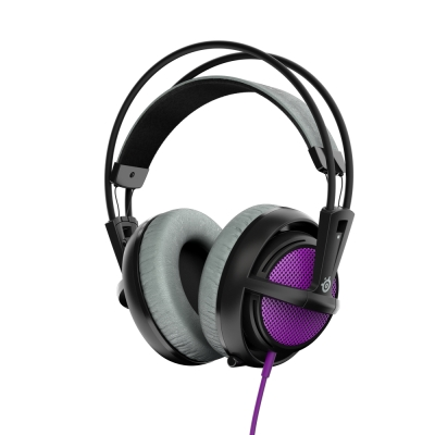 SteelSeries 賽睿 西伯利亞200 耳機麥克風 (紫色)