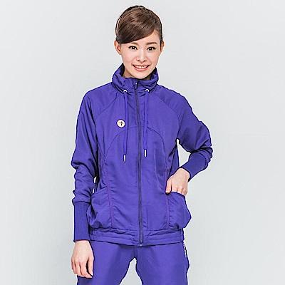 【TOP GIRL】立領風衣外套-紫色