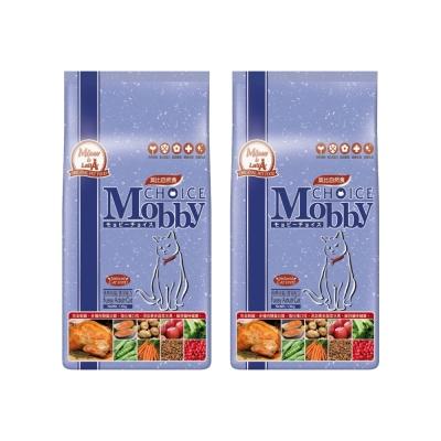 莫比Mobby 挑嘴貓 專用配方 自然食飼料 3公斤 X 2包