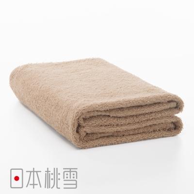 日本桃雪居家浴巾(淺咖啡色)