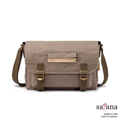satana - 美好年代側背包 - 松樹皮