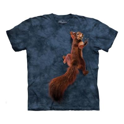 摩達客 美國進口The Mountain 和平松鼠 純棉環保短袖T恤
