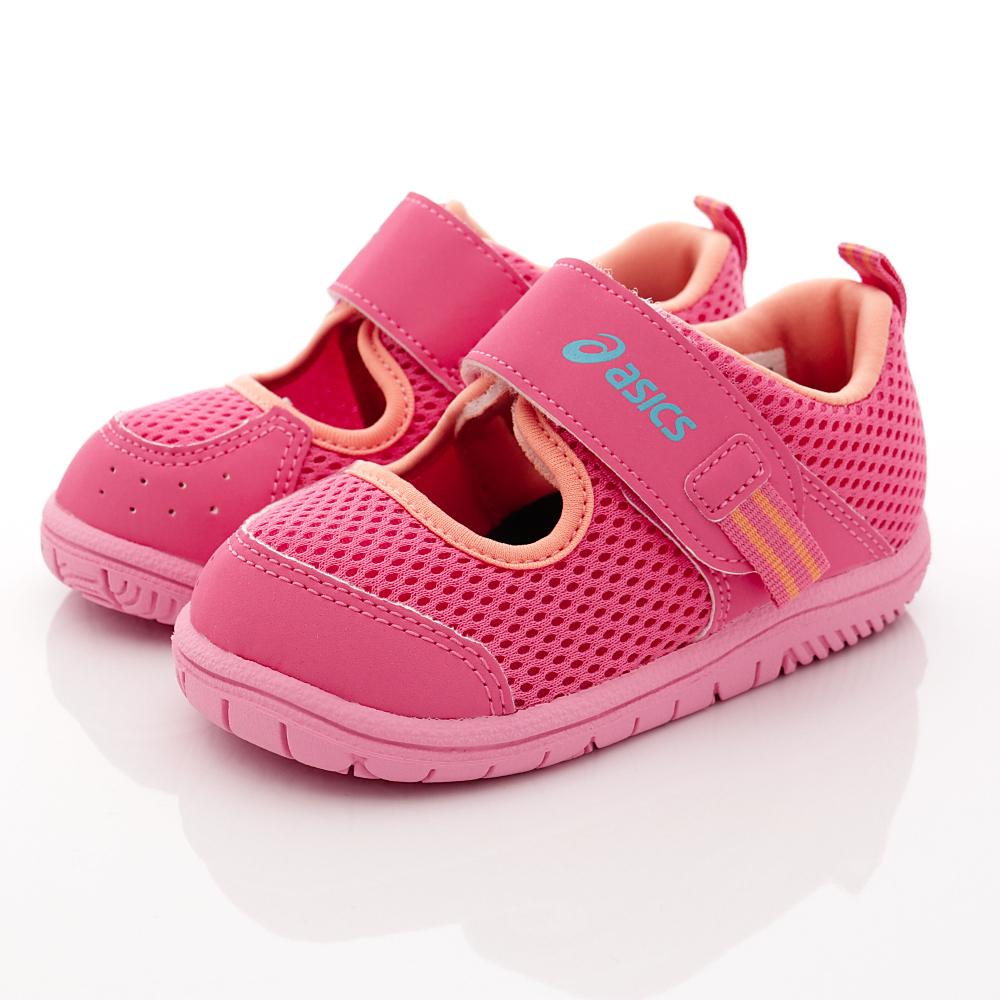 亞瑟士SUKU2機能鞋-速乾止滑款-ON18-19桃(中小童段)HN