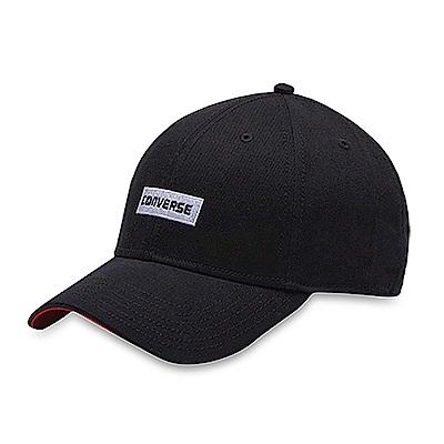 CONVERSE-男鴨舌帽10006543A02-黑