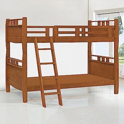 Bernice-艾德華3.5尺加長型實木雙層床架