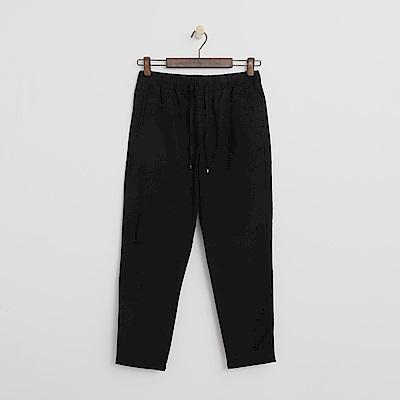 Hang Ten - 女裝 - 抽繩休閒長褲-黑色