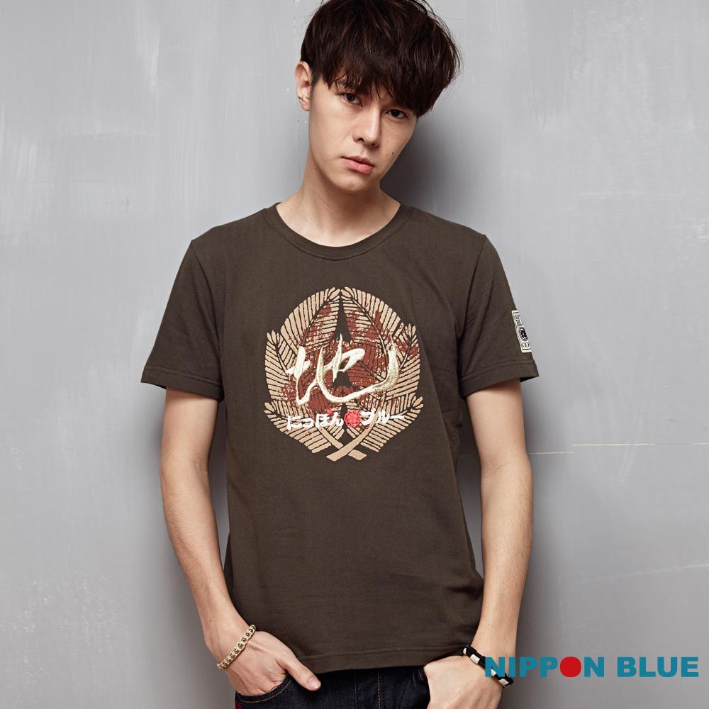 日本藍 BLUE WAY 宮本武藏五輪書2016地之卷短袖T恤