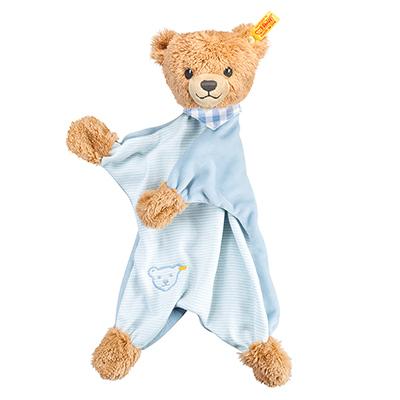 STEIFF德國金耳釦泰迪熊 - 晚安熊安撫巾 30cm(北鼻系列)