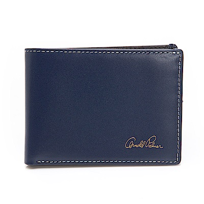 Arnold Palmer- 三折式短夾 Matthew系列-藍