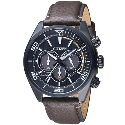 CITIZEN 星辰 征服極速光動能計時腕錶(CA4335-11E)-45mm