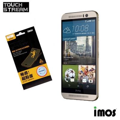 iMos Touch Stream HTC M9 霧面 抗污防反光式保護貼