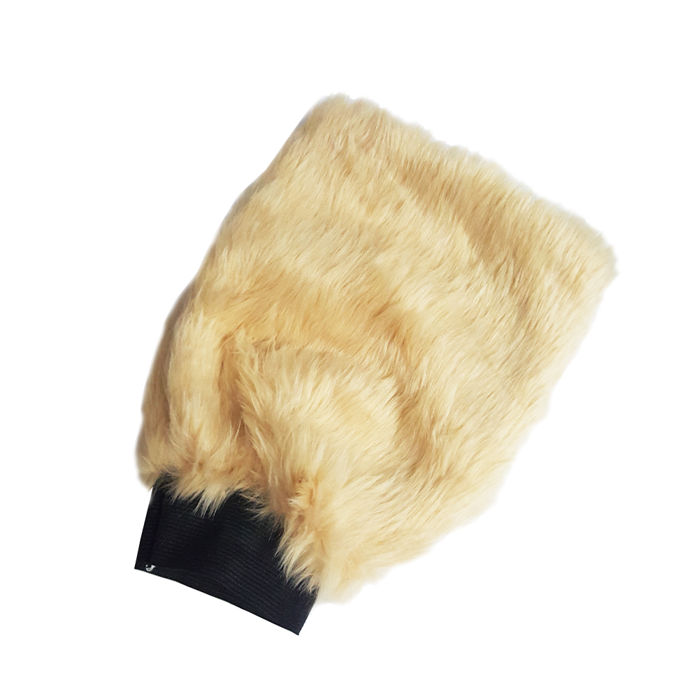 便利社 仿羊毛雙面洗車手套2入組