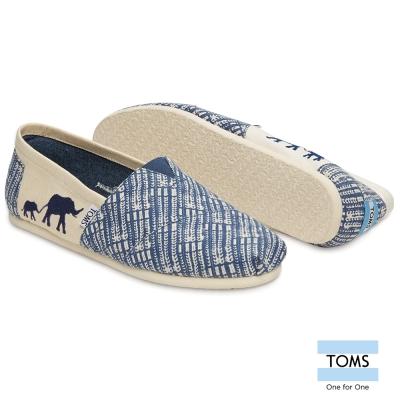 TOMS X 野生動物保護懶人鞋-男款