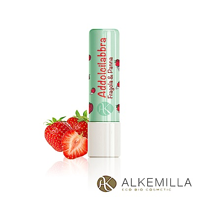 Alkemilla愛可蜜菈 奶油草莓護唇膏 5g