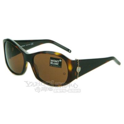 萬寶龍 MONTBLANC-時尚太陽眼鏡 (MB289S)琥珀色