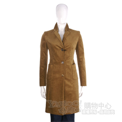 ANTONIO FUSCO 棕色長版大衣