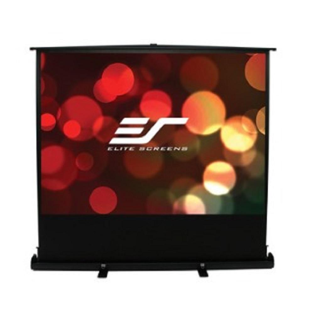 Elite Screens 億立銀幕120吋 4:3 可攜式單桿地拉幕-白塑布 F120NWV