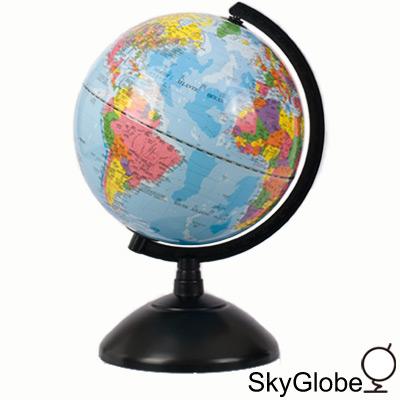 SkyGlobe 8吋發光塑膠底座地球儀