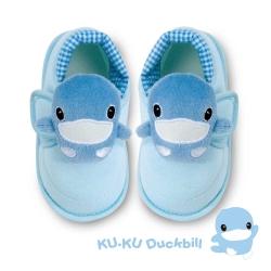 任選-KU.KU酷咕鴨 酷咕鴨可愛造型學步鞋-藍(M/L/XL/LL)