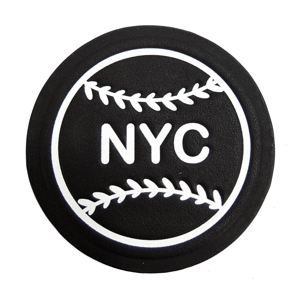 COACH NYC棒球貼紙(黑)COACH