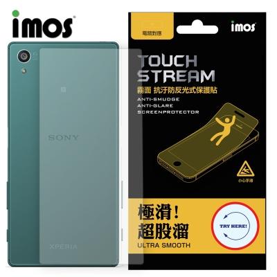 iMOS Sony Xperia Z5 Touch Stream 電競 霧面 背面保護貼