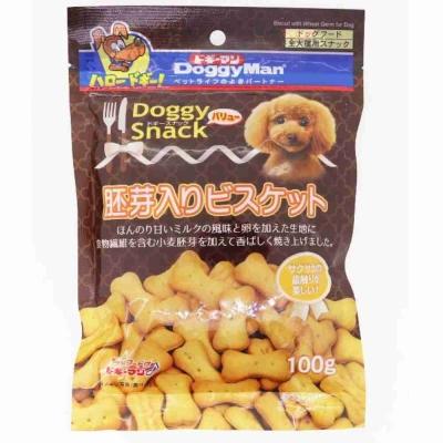 (買一送一)Doggyman 胚芽消臭骨型餅乾 100g