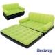 BESTWAY 多功能充氣式雙人折疊沙發椅/空氣床_草綠 (67356) product thumbnail 1