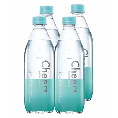 泰山 Cheers氣泡水(500mlx4入)
