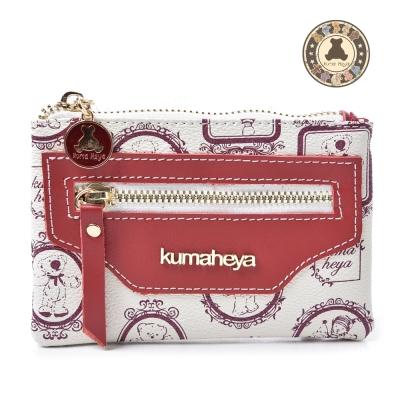 kuma heya -魔鏡熊卡式收納零錢包 共五色