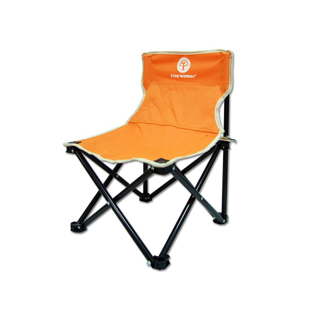 Tree Walker 輕巧牛津折疊椅-橘色