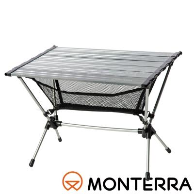 【MONTERRA 韓國】超輕蛋捲收納桌│折合桌 FAA71