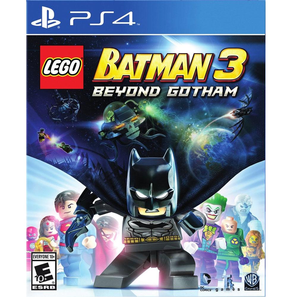 樂高蝙蝠俠 3:飛越高譚市 LEGO Batman 3-PS4英文美版