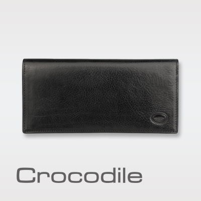 Crocodile Manhattan 系列長夾 0103-6301
