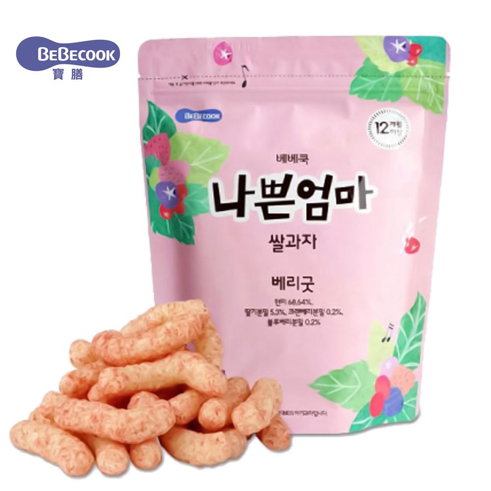 韓國 BEBECOOK 智慧媽媽 莓果米棒(25g)
