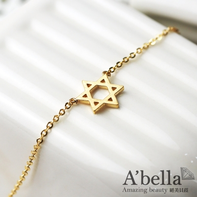A'bella 菈蓓索系列 星星 鎖骨項鍊